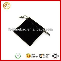 black velvet gift bags pouch
