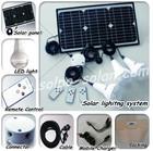 Home use Led solar light kits DC 12V( Mini system)