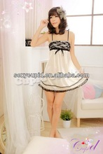 wholesale lady sexy night gown set beautiful mature unique babydoll A1950