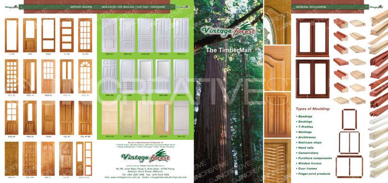 Timber Wood Door-Vintage