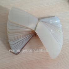 PVC Plastic transparent Plastic Plastic collar support for clothing for men's shirt collar
