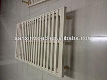 cheap wooden coffin beds