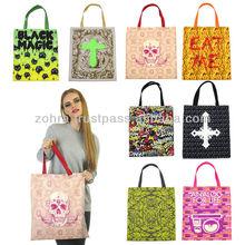print polyester bag - different prints