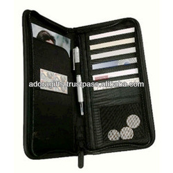 travel purses and wallets / stylish genuine leather travel wallets for men / promotional mens leather travel wallets