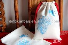 promotion cotton drawstring shopping bag