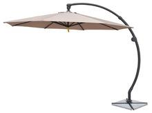 Alu.curved back hanging umbrella