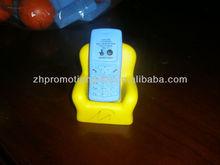 promotional cellphone sofa shape pu foam anti stress balls