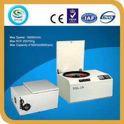 TGL-19 blood bank china centrifuge equipment