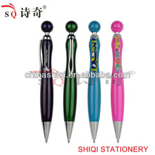 2015 new plastic pen kute smile lovely