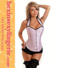 Hot Sale No MOQ High Quality Sexy Slimming waist training corsets steel bone
