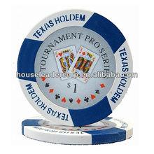 11.5g Texas Holdem Poker Chips / Tournament Pro Poker Chips
