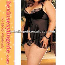 Wholesale plus size lingerie sexy fat women