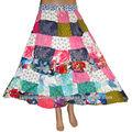 para mujer al por mayor de moda caliente de la venta de retazos de mujer sexy falda larga