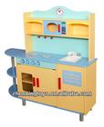 2014 Hot sale top quality kitchen toy set, new and popular kids kitchen toy set, cute design wooden kitchen toy set