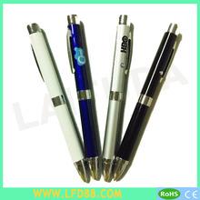 metal colorful logo LED light pen,shenzhen pen,led projector logo laser pen