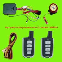 High quality motorbike alarm motorcycle alarm system with LED indicator