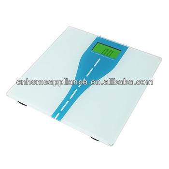 Green Backlight Bathroom Scale 180KG Capacity