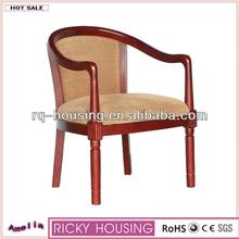 Hot sale alibaba italian classic corner wood round back chair