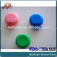Nylon Waxed Fresh Mint Abrasive Dental Floss
