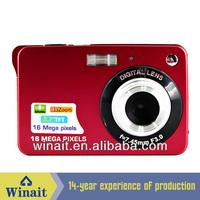"""2.7"""" digital camera with Max.16.0Mega pixels real 3MP Sensor"""