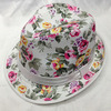 Direct Sales Cloth Summer Hats Sun Hats with Flowers