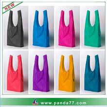 Fashion advertising folding nylon bag wholesale