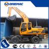 Jonyang 8 ton mini diggers excavator digger wheel excavator JYL608