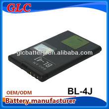 Hot long last battery for mobile phones for nokia BL-4J