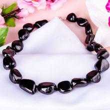 "Natural healing Shungite schungit tumbled stone beads ""Energy of love"""