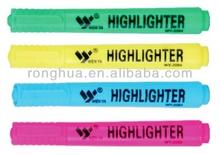 New Style felt-tip Highlighter Marker , skin marker pen