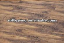 12mm nature core laminate wood oak color floor/floating wood tile,cheap composite decking flooring