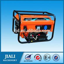 small lpg generator portable/digital type open frame soundproof generator