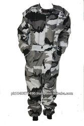 Custom Indoor grey camo Kart Racing cordura suit
