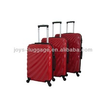 JW-148002- flowing-lines design 100%PC polo world luggage