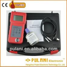 Thru coating directly measuring ultrasonic thickness gauge tester meter