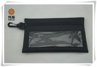 Popular advertisting good black pencil bag