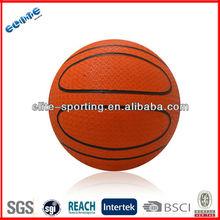 Rubber mini basketball pvc promotional basketball