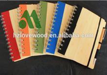Cheap Notebook Bamboo/bamboo notebook/bamboo stationery