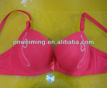 delicate big cup pink lovely name brand bra
