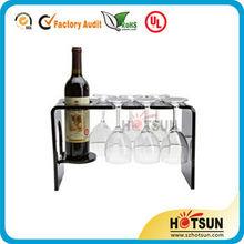 Acrylic Wine Bottle Holder for Wholesales 2014