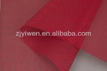 Resistente al fuego PVC recubierto de malla de color de la tela de protección