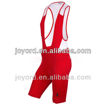 Spandex Gel Pad Cycling Bib Shorts