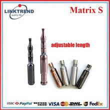 2013 Alibaba king style atomizer matrix s e-cig wax vaporizer pen