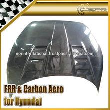 Hyundai Veloster Turbo Gamma Carbon Fiber Vented Hood Bonnet