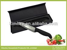 High Quality 6 Inch Black Ceramic Knife With Mirror Polishing