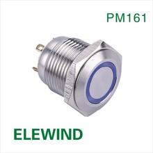 ELEWIND single pole single throw push button switch(CE,ROHS)