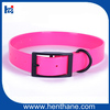 High Quality Customerized Fluo Pink Pet Dog Collar