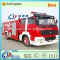Chassis de dongfeng 4*2 de combate a incêndio do caminhão/de água e espuma de bombeiros( 8000l)