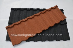 steel shingle roof tile/ Antique steel roof tile/aluminum roofing