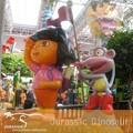 venda quente fibergalss personagens de desenhos animados